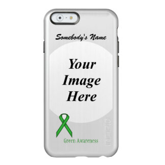 Coque iPhone 6 Incipio Feather® Shine Modèle standard vert de ruban
