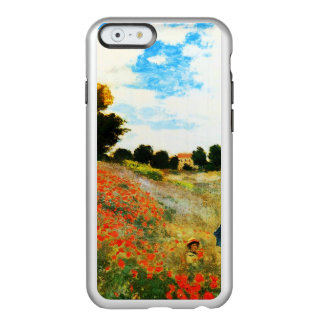 Coque iPhone 6 Incipio Feather® Shine Monet-Pavots de Claude à Argenteuil