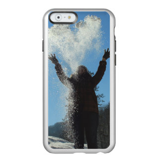 Coque iPhone 6 Incipio Feather® Shine Neige de lancement de femme