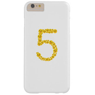 Coque iPhone 6 Plus Barely There 5ème Mignon drôle d'Emoji de l'anniversaire 2012