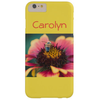 Coque iPhone 6 Plus Barely There Abeille sur une fleur