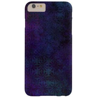 Coque iPhone 6 Plus Barely There Abrégé sur bleu et pourpre, art numérique sale