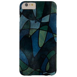 Coque iPhone 6 Plus Barely There Abrégé sur turquoise en verre souillé de Digitals