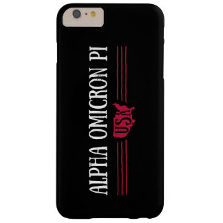Coque iPhone 6 Plus Barely There Alpha Omicron pi Etats-Unis