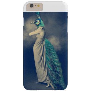 Coque iPhone 6 Plus Barely There Art lunatique, Femme-Paon, imaginaire, photo