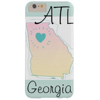 "Coque iPhone 6 Plus Barely There Atlanta cas local de téléphone de fierté de ""ATL"