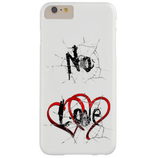 Coque iPhone 6 Plus Barely There Aucun amour, iPhone/coque ipad