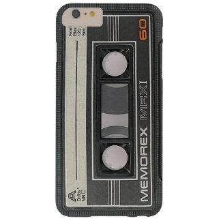 Coque iPhone 6 Plus Barely There Bande MRX 60 de cassette audio de Memorex