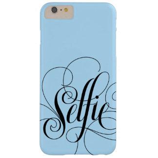 Coque iPhone 6 Plus Barely There Bleu glacier de fantaisie de lettrage de
