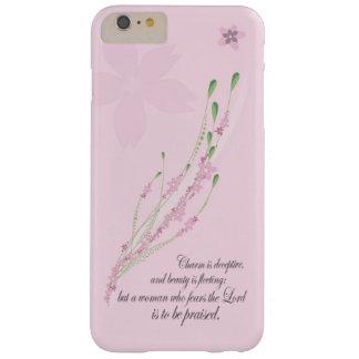 Coque iPhone 6 Plus Barely There Cas chrétien de l'iPhone 7 - proverbes 31 femmes