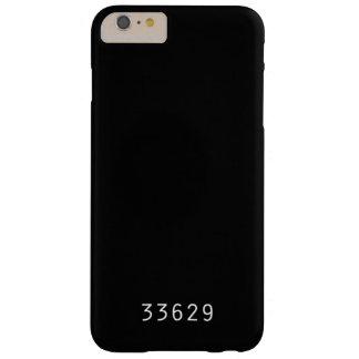 Coque iPhone 6 Plus Barely There Cas de téléphone de code postal - Tampa du sud