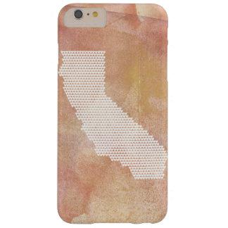 Coque iPhone 6 Plus Barely There Cas de téléphone de la Californie - coeurs