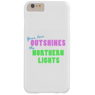 Coque iPhone 6 Plus Barely There Cas de téléphone de lumières du nord