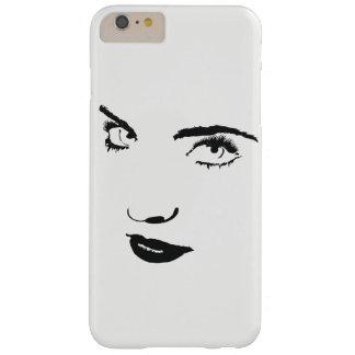 Coque iPhone 6 Plus Barely There Cas de téléphone de visage de femme