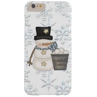 Coque iPhone 6 Plus Barely There Cas plus de l'iPhone 6 de bonhomme de neige à