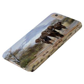 Coque iPhone 6 Plus Barely There cas plus de l'iPhone 6 d'éléphant de Kilimanjaro