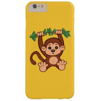 Coque iPhone 6 Plus Barely There Cas plus de l'iPhone 6 mignons de singe de bande