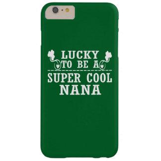 Coque iPhone 6 Plus Barely There Chanceux pour être NANA FRAÎCHE SUPERBE