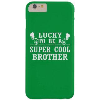 Coque iPhone 6 Plus Barely There Chanceux pour être un FRÈRE FRAIS SUPERBE