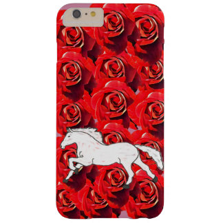 COQUE iPhone 6 PLUS BARELY THERE CHEVAL ROMANTIQUE GIRLY DANS UN DOMAINE DES ROSES