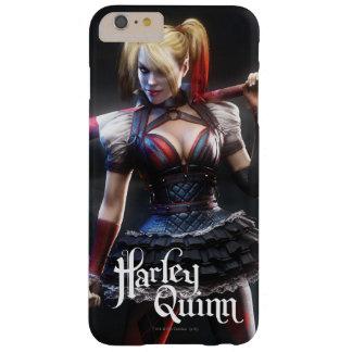 Coque iPhone 6 Plus Barely There Chevalier de Batman Arkham | Harley Quinn avec la