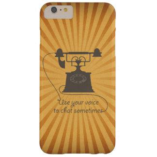Coque iPhone 6 Plus Barely There Communication verbale d'une manière encourageante