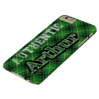 Coque iPhone 6 Plus Barely There Conception écossaise de tartan d'Arthur de clan