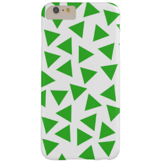 Coque iPhone 6 Plus Barely There Copie graphique de triangle vert clair