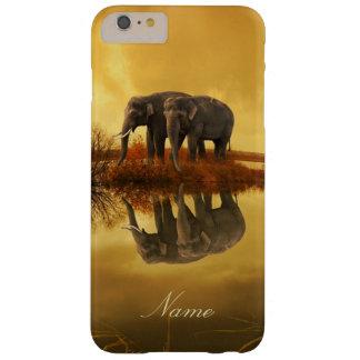 Coque iPhone 6 Plus Barely There Coucher du soleil d'éléphants
