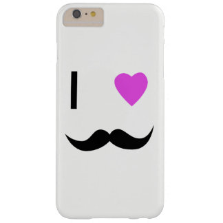 COQUE iPhone 6 PLUS BARELY THERE COUVERTURE DE CAISSE DE MOUSTACHE