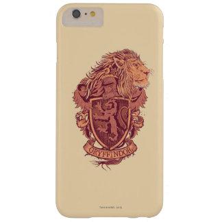 Coque iPhone 6 Plus Barely There Crête de lion de Harry Potter | Gryffindor