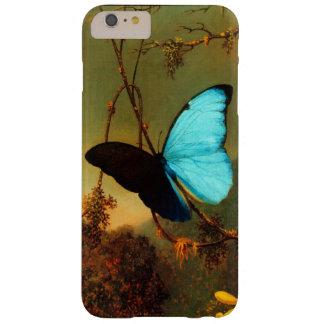 Coque iPhone 6 Plus Barely There Cru bleu de papillon de Martin Johnson Heade