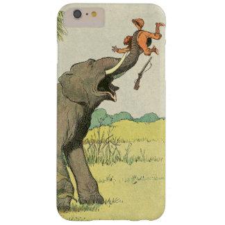 Coque iPhone 6 Plus Barely There Dessin de livre d'histoire d'éléphant