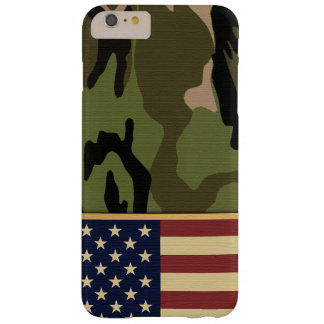Coque iPhone 6 Plus Barely There Drapeau américain Camo