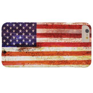 Coque iPhone 6 Plus Barely There Drapeau américain désuet