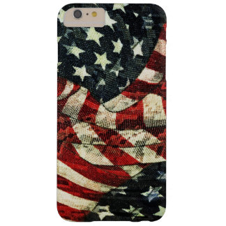 Coque iPhone 6 Plus Barely There Drapeau-Camouflage américain par Shirley Taylor