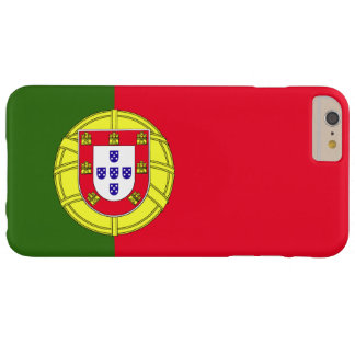 Coque iPhone 6 Plus Barely There Drapeau du Portugal