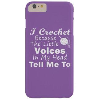 Coque iPhone 6 Plus Barely There Faites du crochet puisque de petites voix