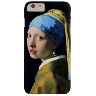 Coque iPhone 6 Plus Barely There Fille de janv. Vermeer avec un cru de boucle
