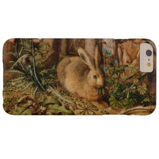 Coque iPhone 6 Plus Barely There Hans Hoffmann un lièvre dans le cru de forêt