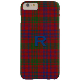 Coque iPhone 6 Plus Barely There iPhone 6S de plaid de tartan de clan de Ross plus