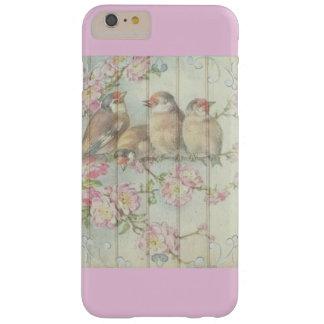 Coque iPhone 6 Plus Barely There iPhone/coque ipad en pastel d'oiseaux