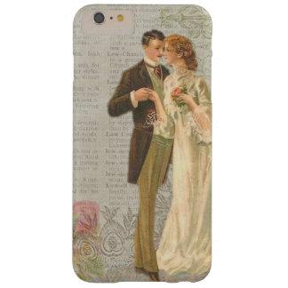 Coque iPhone 6 Plus Barely There iPhone vintage de Madame et de monsieur de