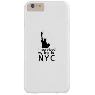 Coque iPhone 6 Plus Barely There J'ai survécu à mon voyage à Nyc