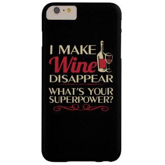 Coque iPhone 6 Plus Barely There Je fais le vin disparaître