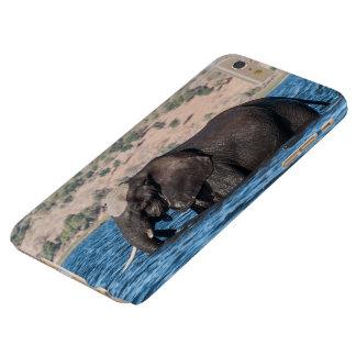 Coque iPhone 6 Plus Barely There Je téléphone la natation protectrice d'éléphant du