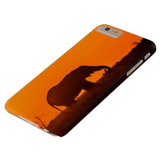 Coque iPhone 6 Plus Barely There Je téléphone la silhouette protectrice d'éléphant