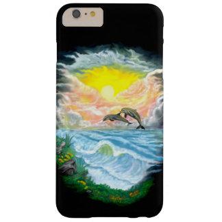 Coque iPhone 6 Plus Barely There Jeu des dauphins au soleil