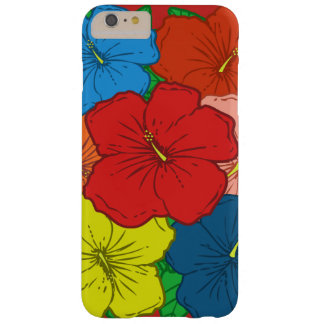 Coque iPhone 6 Plus Barely There La ketmie multicolore fleurit #7