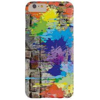 Coque iPhone 6 Plus Barely There La peinture d'art de rue colore la caisse de